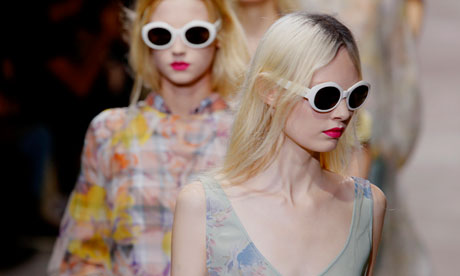 Grunge, Kurt Cobain-style in Dries van Noten's spring summer 2013 ready-to-wear collection